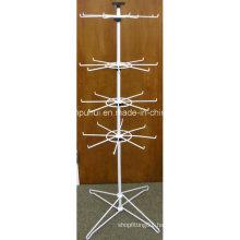 Floor Metal Rotating Hook Rack (PHY225)