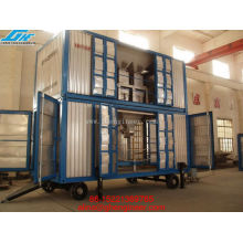 Containerized Mobile Weighing and Bagging Unit FOR PORT