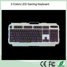Cheapest Backlight Ergonomic Design LED Computer Keyboard Gaming (KB-1901EL)