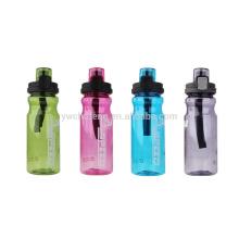 Garrafa livre do tritan de 650ML BPA com de alta qualidade com a garrafa de água do suporte do gancho