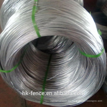 hot dipped galvanized wire 2.5 mm diameter 1500 meters rolls