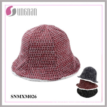 2015 Winter Warm Multicolor Fisherman Cap Lovely Thickened Bucket Hats
