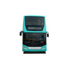 Double decker hybrid sightseeing bus