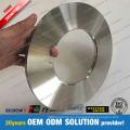 Cuchilla que raja de la bobina de la hoja de titanio del aluminio de cobre