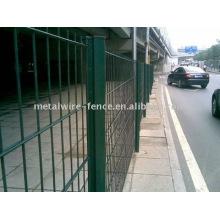 PVC recubierto Doble carretera valla (fábrica)
