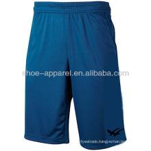 2014 new design polyester tennis shorts for men