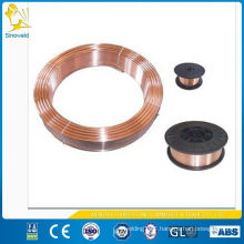 copper coated solid mig welding wire ER70S-6
