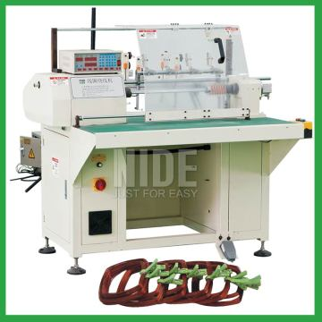 Multi layer stator winding machine