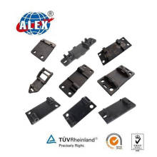 Railroad Tie Plate for Railway Rail Fasteners