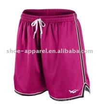 Mulheres correndo calças de treinamento de calções desportivos