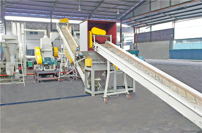 scrap copper cable wire recovery machine