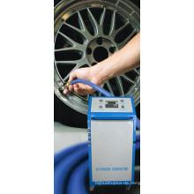 Fahrzeugreifen Verwenden Sie einen Stickstoff / N2-Generator