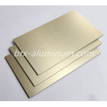 Anodized wiredrawing Aluminum alloy panel
