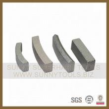 Diamant-Sinterbohr-Bit-Segmente für Blindbasis (SY-CDBS-121)