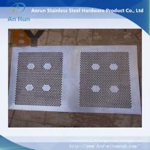 Clôture de tôle perforée en aluminium décorative extérieure en aluminium