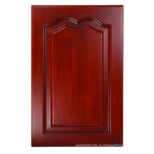 Твердой древесины Кухонный шкаф двери (HLsw-3)