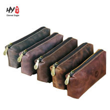 Leather sleeve case eyeglass outdoor activity pouch