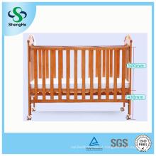 Multifuncional madeira sólida segurança berço