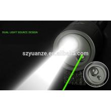2015 nova lanterna laser verde para venda, lanterna de feixe de laser
