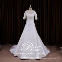 OEM service newest designer wedding dresses Chinese a line French style gowns