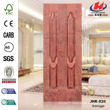 JHK-020 La plupart des ventes Grande taille Huge Design Luxury Certificate HDF Bubingga Door Sheet