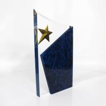 Prêmio APEX de Formas Personalizadas em Acrílico Star Football