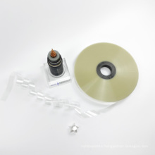 Factory Price Polyester Material Film Taping double pet cable tape  for Cable