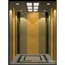 Ascenseur commercial avec petite salle de machines