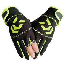 Fishing Gloves Winter Fashion Fitness Warmth Three-Finger Half-Finger Sports Gloves