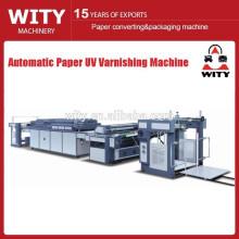 Vidro de papel automático e máquina de revestimento de óleo