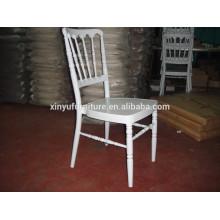 white aluminium napoleon chair XA3009