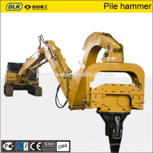 Chinese factory JISAN made high efficient good quality 20 ton vibratory Pile drive hammer