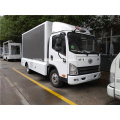 FAW 4x2 P6 Outdoor Mobile Led Video Truck