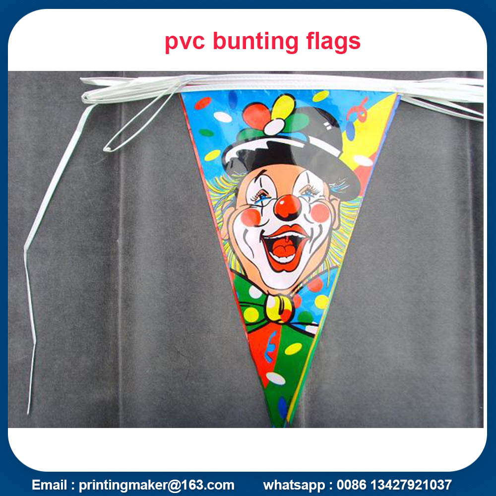 plastic bunting flags