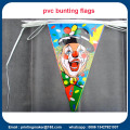 Benutzerdefinierte Multi-Color Triangle Bunting Flags Banner