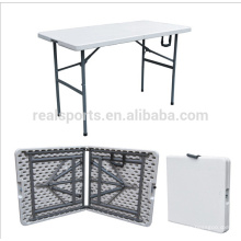 Eco-friendly HDPE e estrutura de aço tubular Material e Sim dobrável mesa dobrável / mesa de camping dobrável