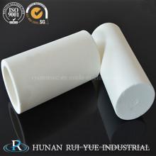 Tubo de cerámica de alúmina industrial de alta pureza 99%