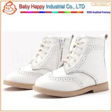 École de cuir pour enfants style chaud les plus récentes chaussures enfants adorables