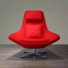 Cadeira de arte moderna de cadeira, cadeira de mobiliário exclusivo, cor vermelha (XT05)