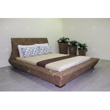 Popular Style Water Hyacinth Indoor Home Furniture Bedroom Double size