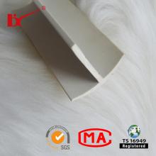 Perfil de borracha plástica industrial da selagem da boa elasticidade da extrusão