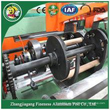 Máquina rebobinadora de papel de semi-aluminio de venta caliente de diseñador