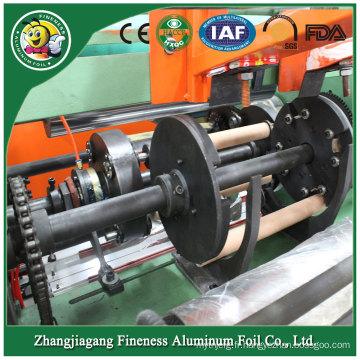 Machine de rebobinage de papier semi-aluminium de vente chaude de concepteur