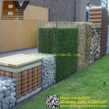 Decorative Welded Gabion Boxes Landscape Garden Edging