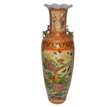 Сатсумская фарфоровая ваза