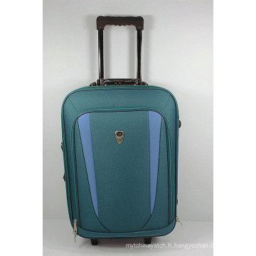 Caisse de bagages souple de voyage externe de chariot à pas bon marché d'EVA