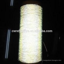 Brillent dans le fil foncé de broderie / ruban léger / bande menée pour des vêtements