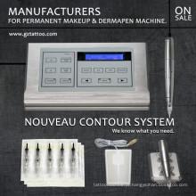 Máquina permanente da composição do tatuagem profissional do contorno de Nouveau