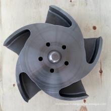 Roue de pompe de durco d'acier au carbone de titane / alliage / acier au carbone 6 * 4-13
