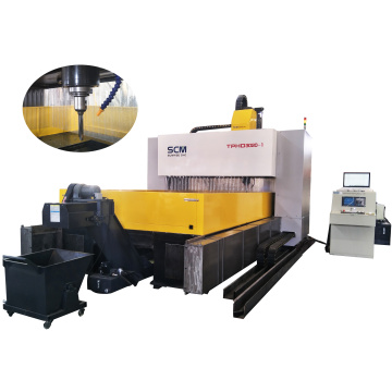Gantry Movable CNC Drilling Machine untuk Pelat Baja